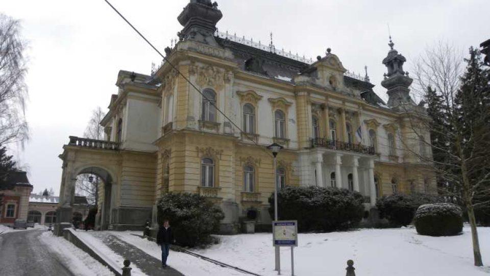 Svitavy - Langerova vila, dnes sídlo Městského úřadu