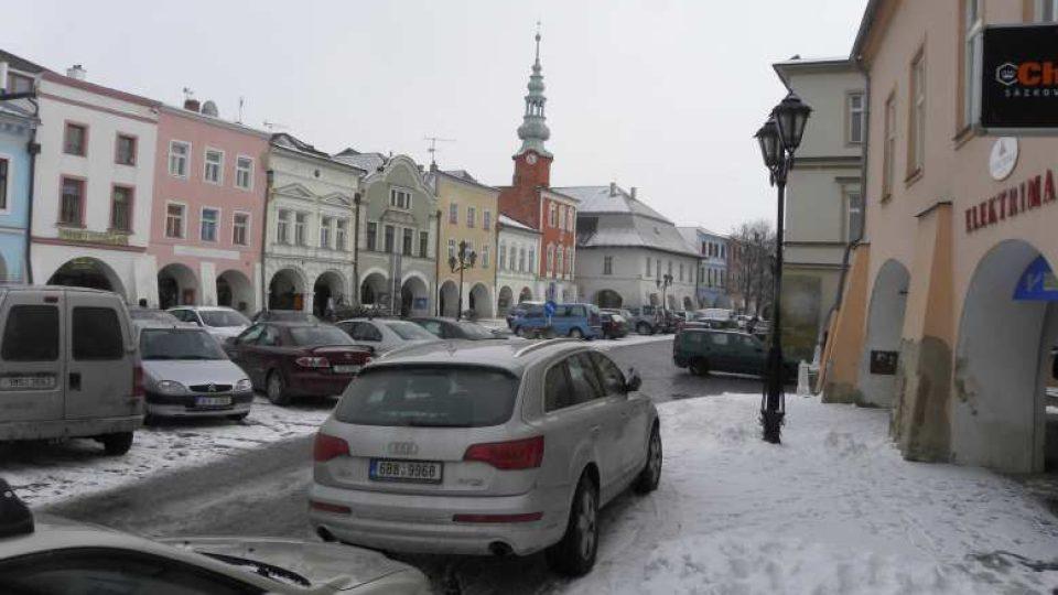 Svitavy - náměstí