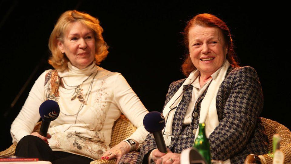 Lucie Němečková a Iva Janžurová