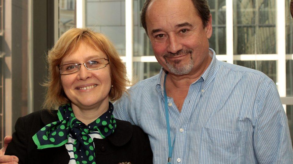 Daniela BRůhová a Viktor Preiss