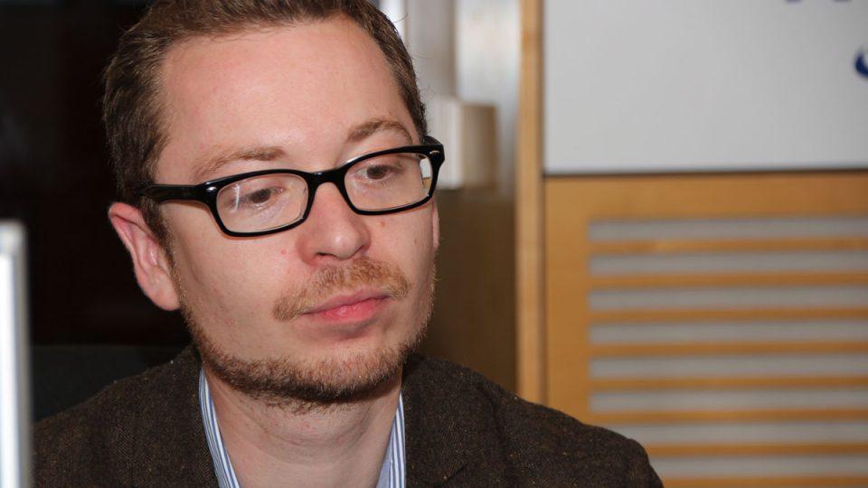 Miroslav Jašurek ze Studentské komory Rady vysokých škol byl hostem Dvaceti minut Radiožurnálu