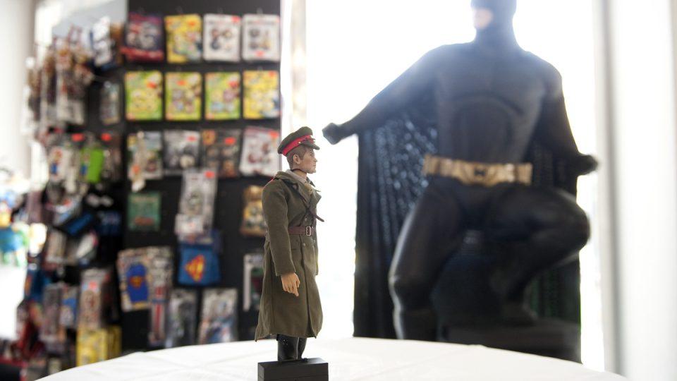 První česká sběratelská figurka Majora Zemana v Comics Pointu