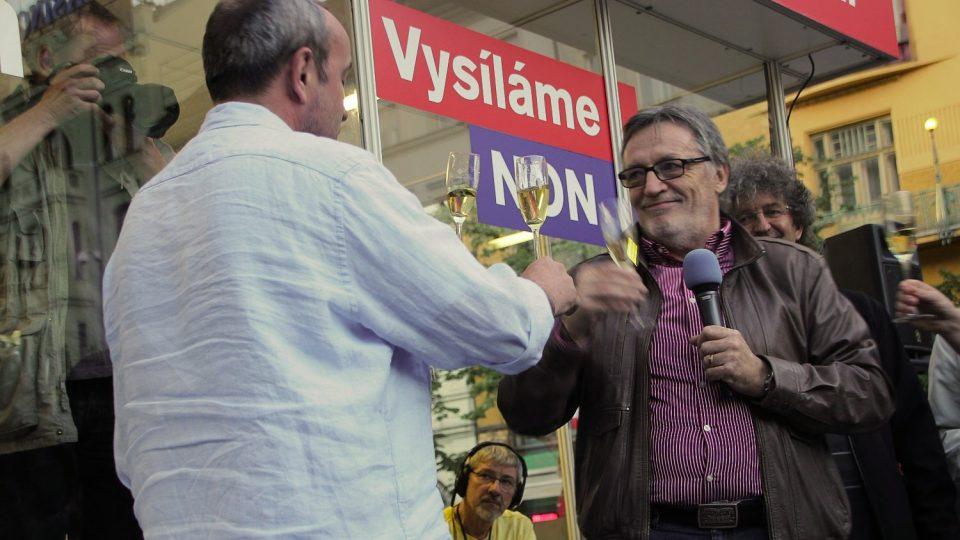 Jan Pokorný a Peter Duhan