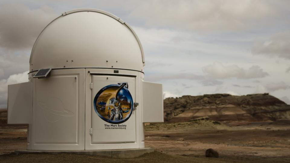 Výzkumná stanice pro život na Marsu v americkém Utahu