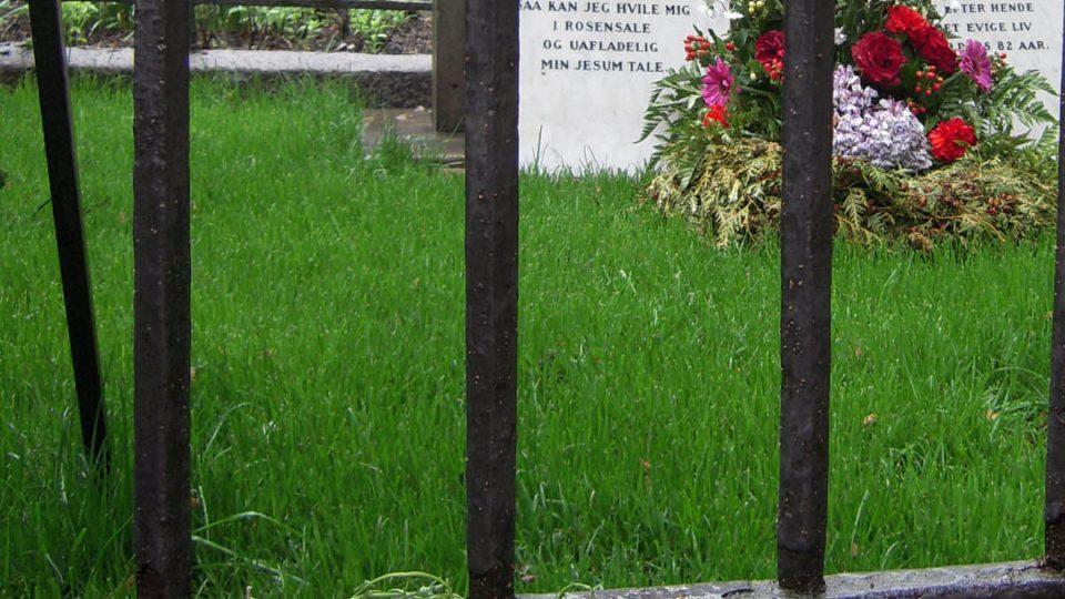 Rodinná hrobka Kierkegaardových
