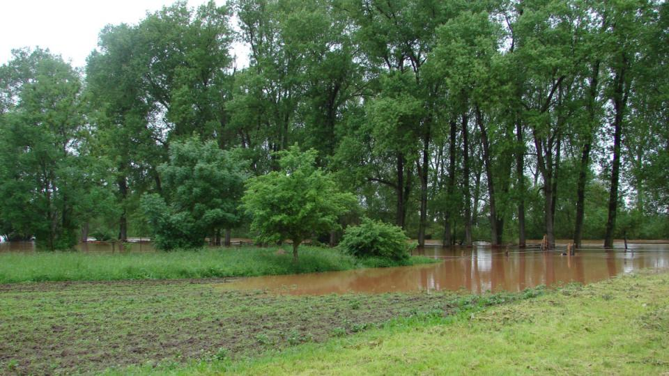 Záplavy v Němčicích 3
