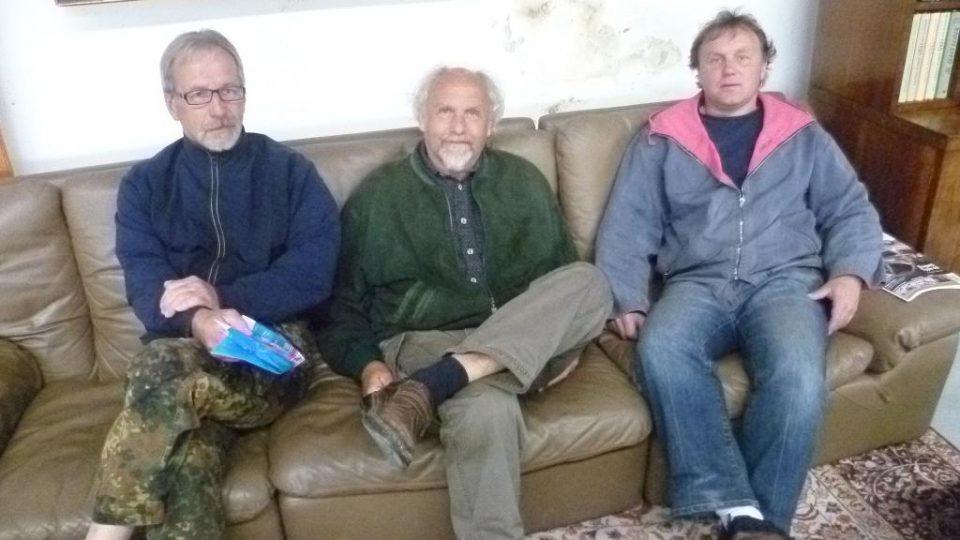 Zakladatelé telčského spolku velocipedistů