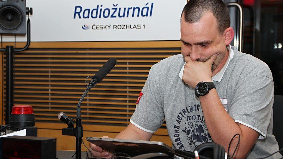 Jan Kolouch z Policejní akademie