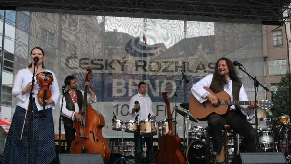 Tomáš Kočko se svým orchestrem