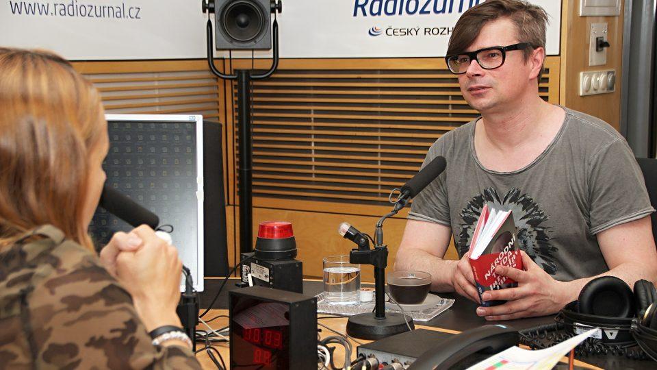 Spisovatel Jaroslav Rudiš