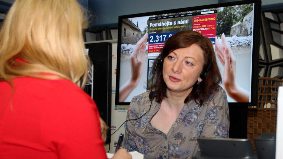 Veronika Sedláčková si s lidmi povídala mezi 9. a 10. hodinou
