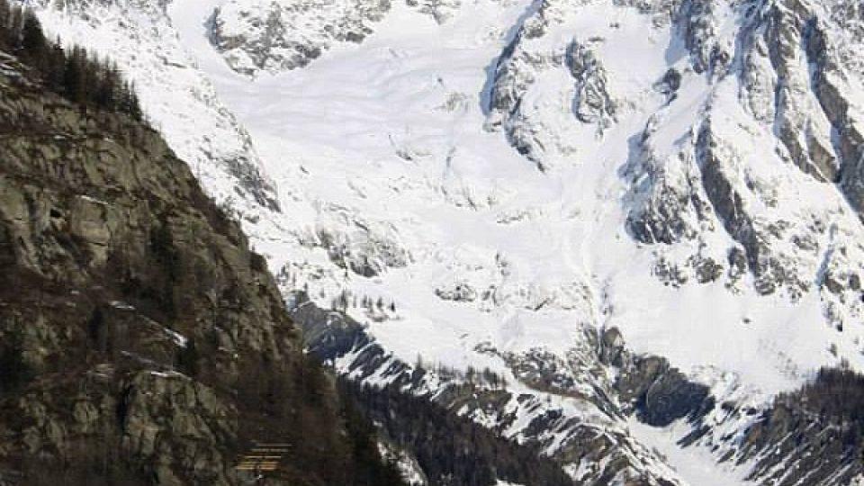 Carmouyer v Údolí Aosty pod Mont Blancem