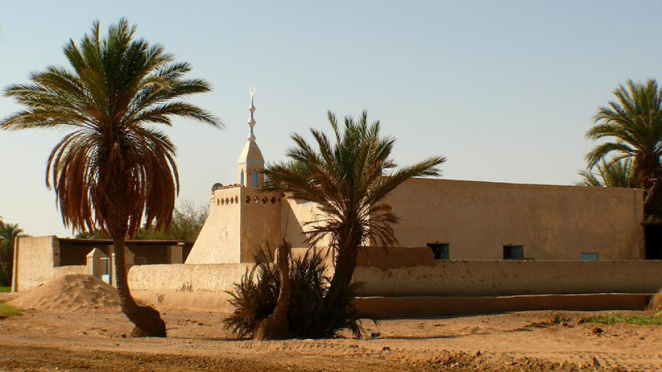 Andrea Kaucká a René Bauer - Súdán - Mešita v severním Sudánu