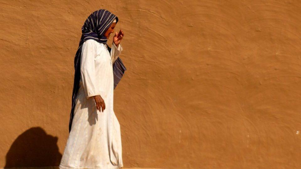 Andrea Kaucká a René Bauer - Súdán- Severní Súdan - domorodá žena