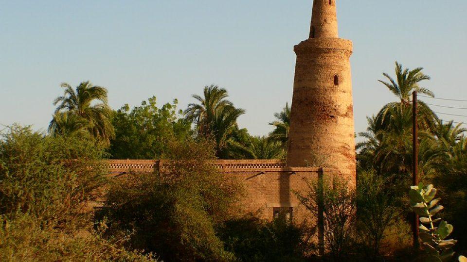 Andrea Kaucká a René Bauer - Súdán - Mešita s chybějícím půlměsícem