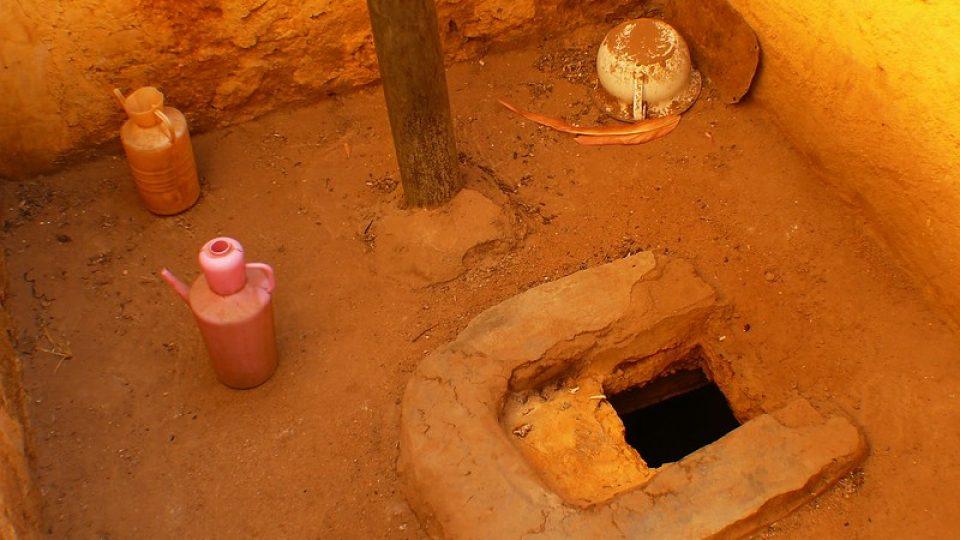 Andrea Kaucká a René Bauer - Súdán - Tradiční súdánský záchod vyšších vrstev
