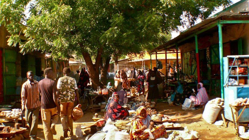 Andrea Kaucká a René Bauer - Súdán - Domorodý trh protkaný vůněmi a barvami