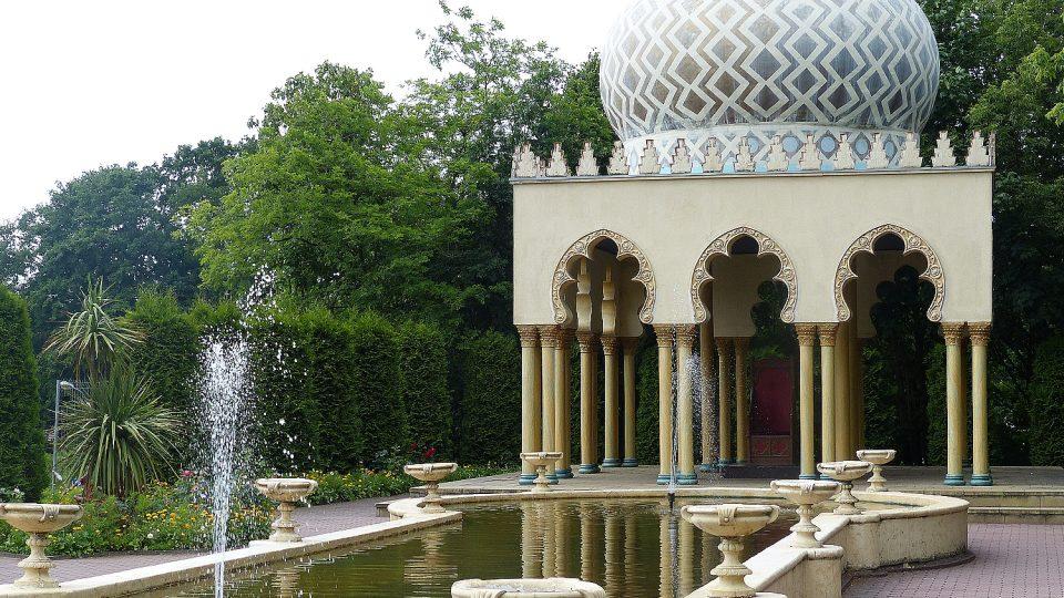 V Babelsbergu nechybí ani indické paláce