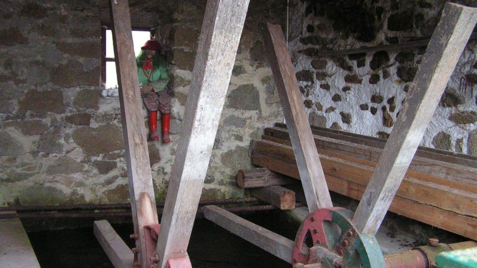 V těchto místech ještě před sedmdesáti lety klapalo mlýnské kolo