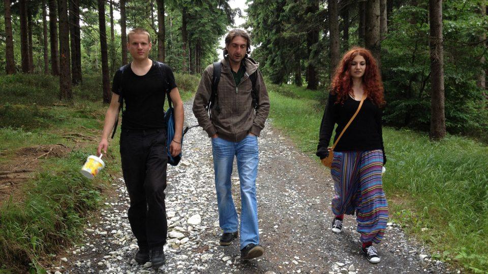 Cesta z Borůvkové hory
