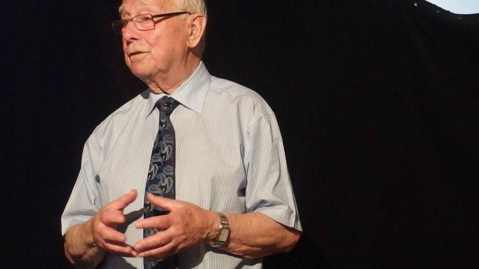 Předseda Židovské obce Brno Pavel Fried
