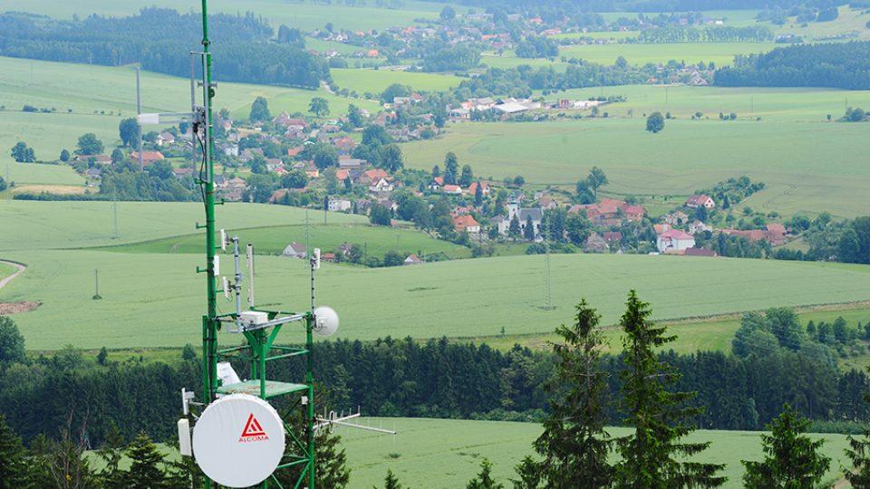 Rozhledna Andrlův Chlum nabízí krásný výhled na širé okolí