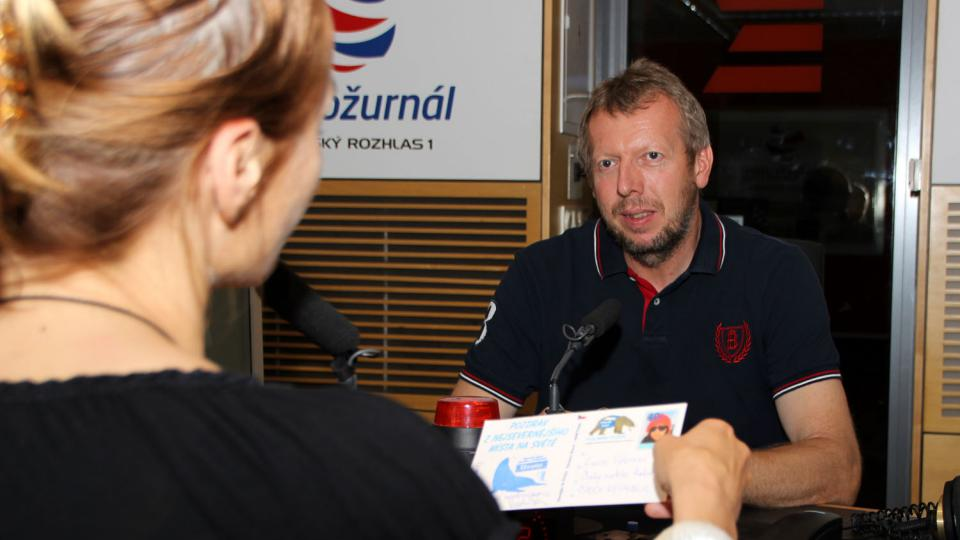 S Václavem Sůrou si povídala moderátorka Lucie Výborná