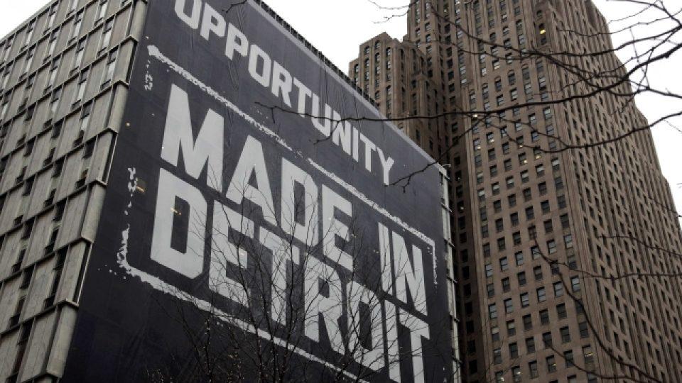 Americké město Detroit