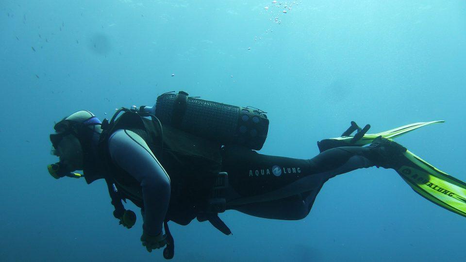 Od jednoho potápěčského místa ke druhému je to vždy jen kousek