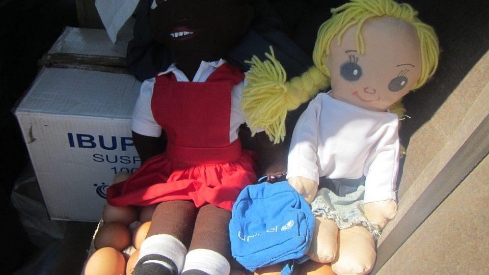 Panenky od Unicefu