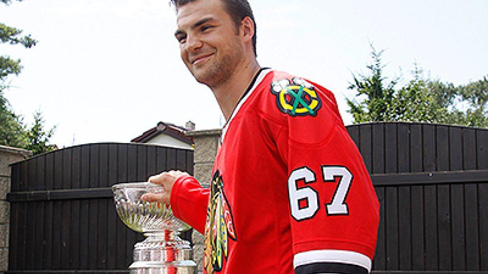 Michael Frolík a Stanley Cup