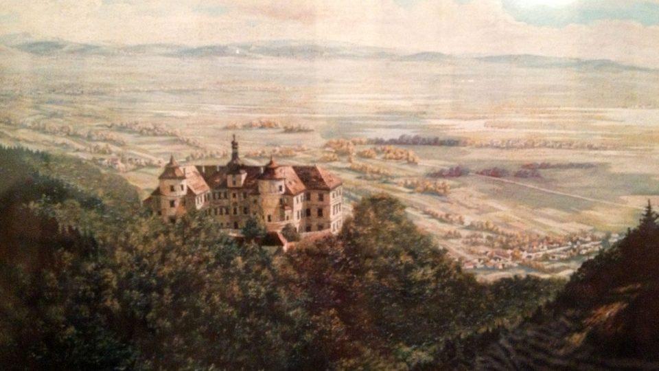 Jezeří na začátku 19. století
