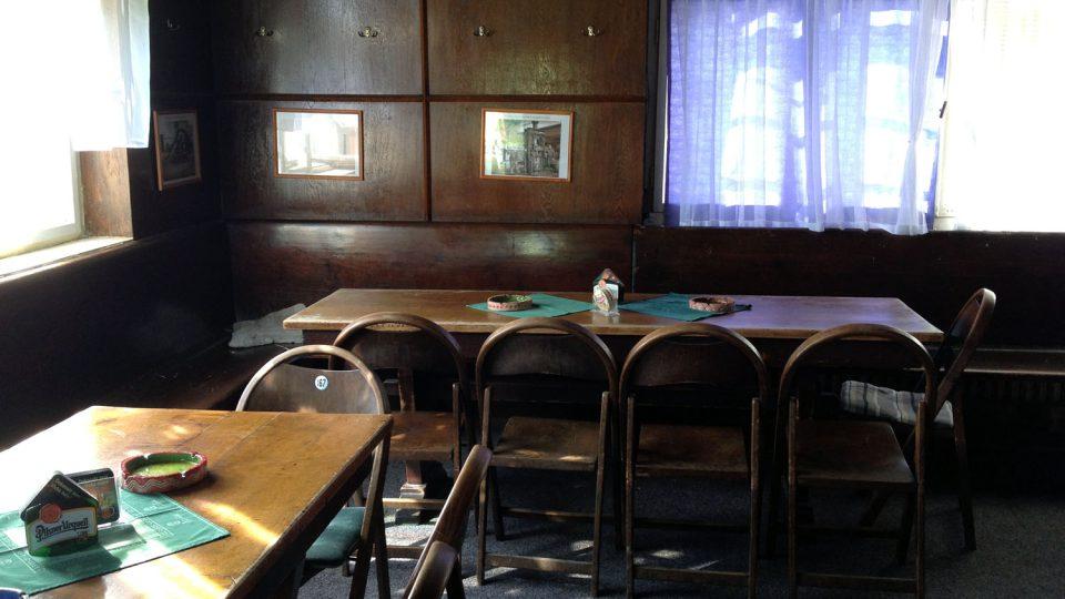 Sokolovna je odpoledne prázdná
