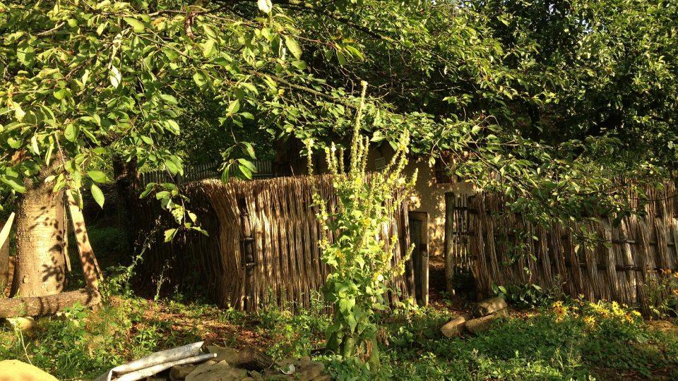 Hliněnka je v zahradě