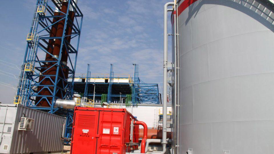 Investor se snaží o co nejrychlejší spuštění elektrárny zpracovávající metan