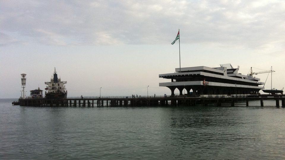 Abcházie sahá až k Černému moři
