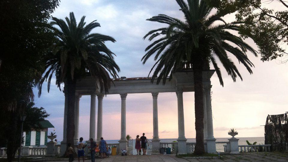 Na pobřeží Abcházie