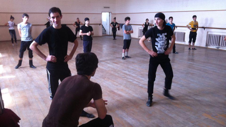 Příprava tanečníků