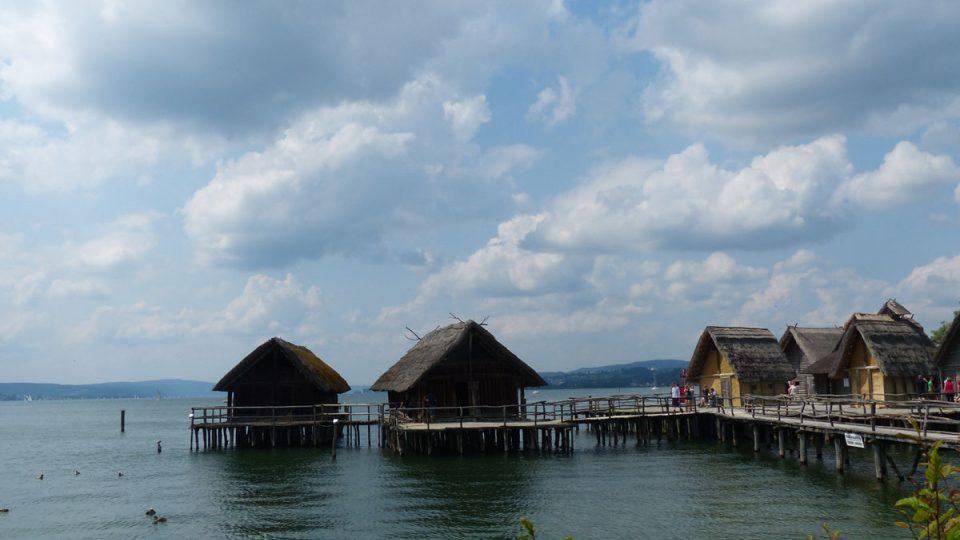 Na břehu Bodamského jezera