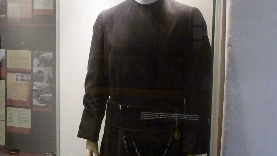 Veškeré exponáty poskytli sami kněží