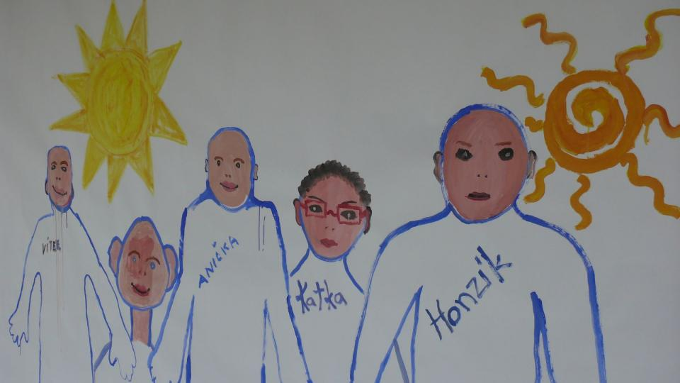 Výstava Můj nový život zachycuje život dětí, které se musely vypořádat s nádorovým onemocněním
