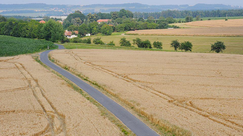 Výhled z Borůvky