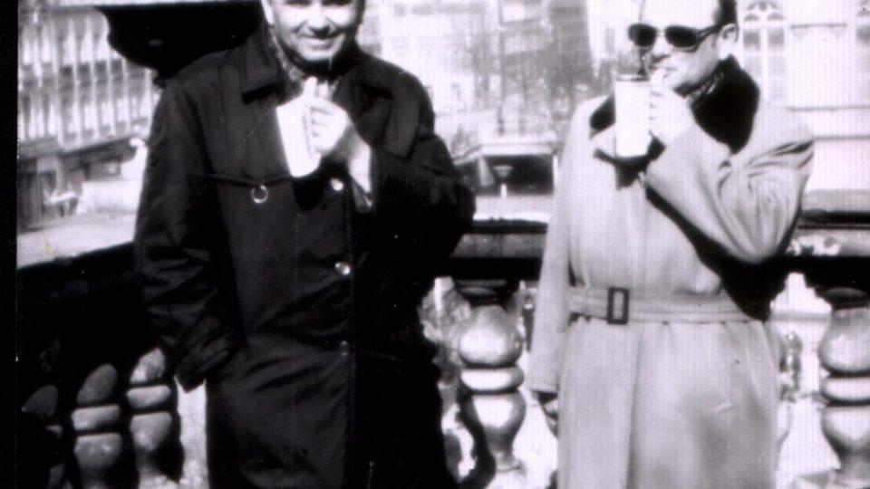 Ján Bugel v Karlových varech v 70. letech