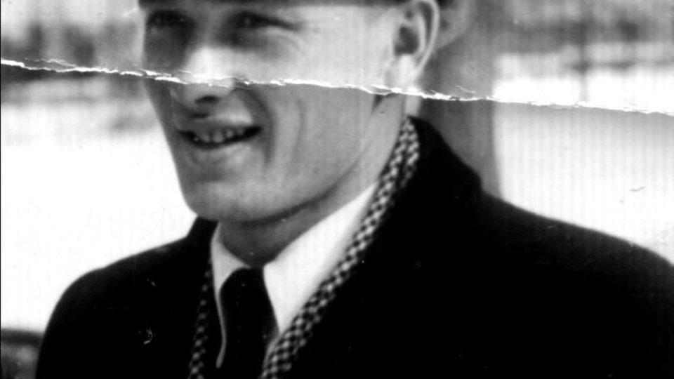 Ján Bugel krátce po válce