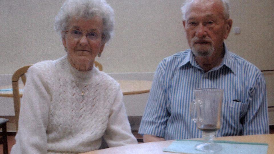 Ján Bugel se svojí ženou v roce 2009