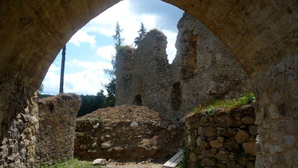 Hrad byl nakonec zbořen pro nepotřebnost