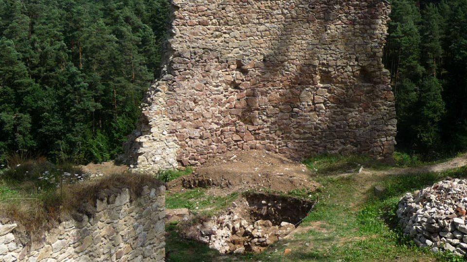 Hrad byl založen po roce 1270 Bavorem II. ze Strakonic
