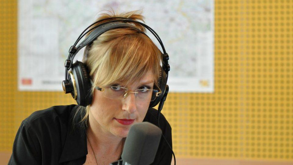 Štěpánka Duchková ve studiu