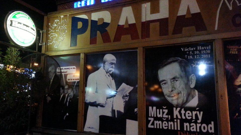 Vlastenecký koutek české a slovenské komunity v Hurghádě