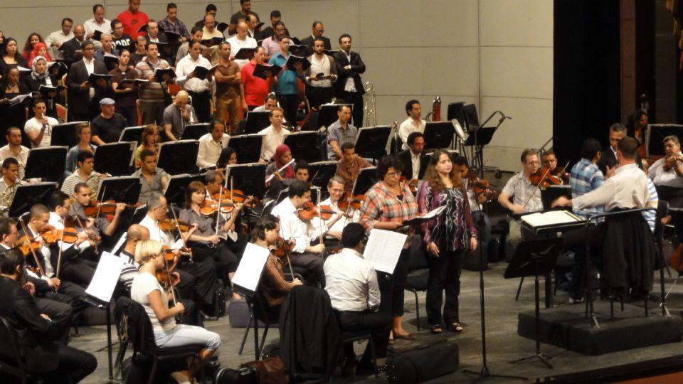 Dirigent a jeho orchestr